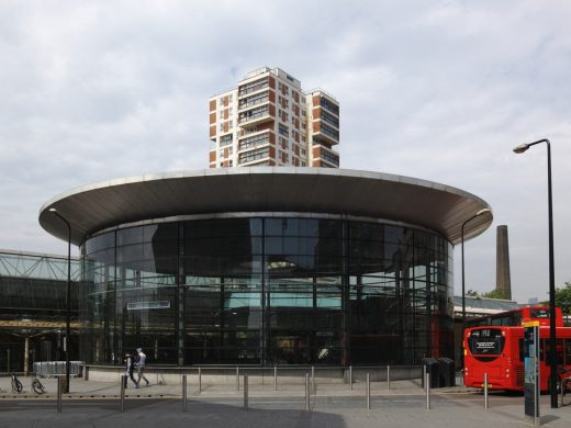 Canada Water transport interchange and bus station
