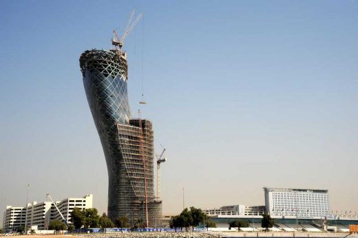 Capital Gate Tower Abu Dhabi