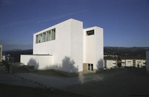 Church of Macro de Canaveses building by Alvaro Siza architect