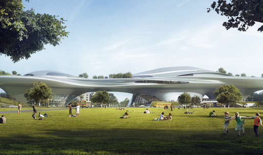 Former Lucas Museum of Narrative Art in Los Angeles design