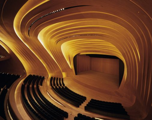 Heydar Aliyev Centre Building by Zaha Hadid Architect interior | www.e-architect.co.uk