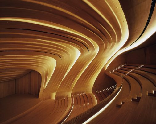 Heydar Aliyev Centre Building interior | www.e-architect.co.uk