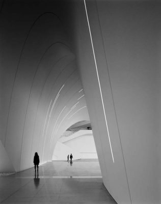 Heydar Aliyev Centre Building interior by Zaha Hadid architect | www.e-architect.co.uk
