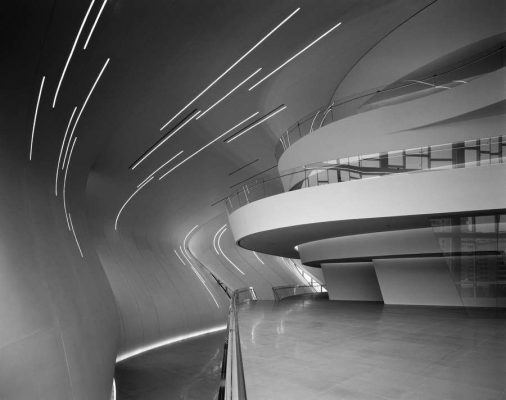 Heydar Aliyev Centre Building interior by architect Zaha Hadid | www.e-architect.co.uk
