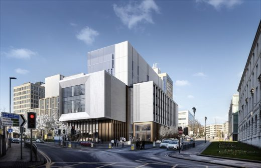Leeds Beckett University Creative Arts Building E Architect