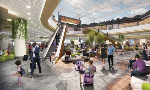 Manchester Airports Terminal building design by Benoy