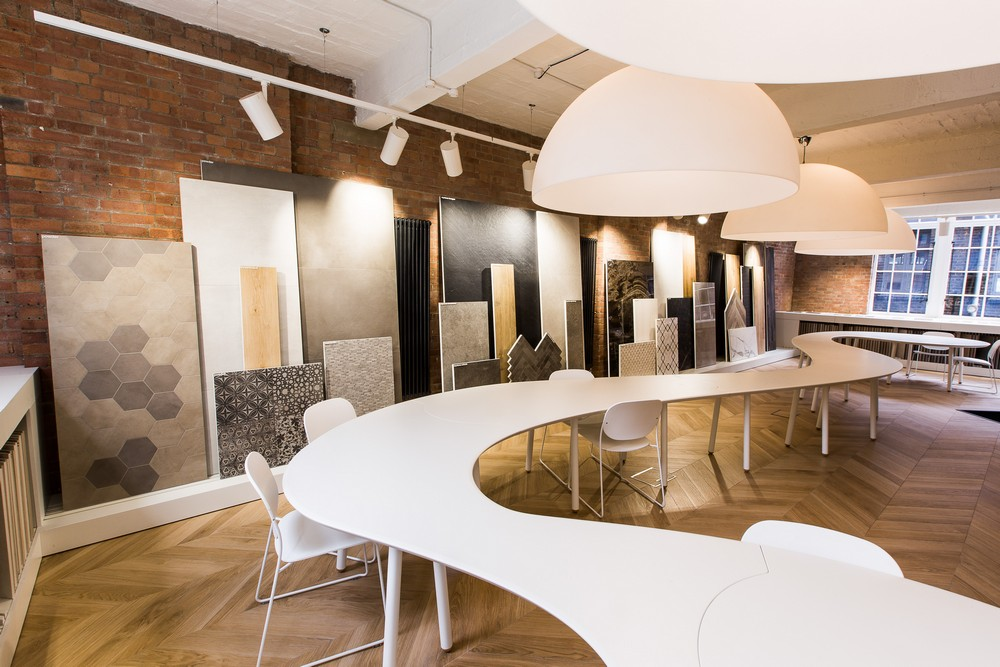 marazzi showroom in clerkenwell e architect. Black Bedroom Furniture Sets. Home Design Ideas