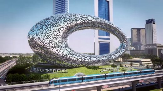 Museum of the Future in Dubai Building | www.e-architect.co.uk