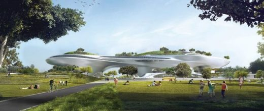 New design for Lucas Museum of Narrative Art Los Angeles | www.e-architect.com