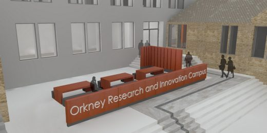 Orkney Research + Innovation Campus Building