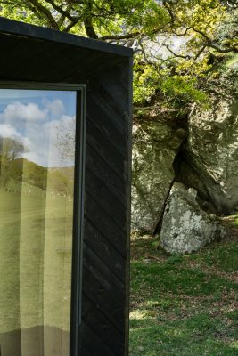 Pop-up Hotel Cabin at Castell y Bere in Wales