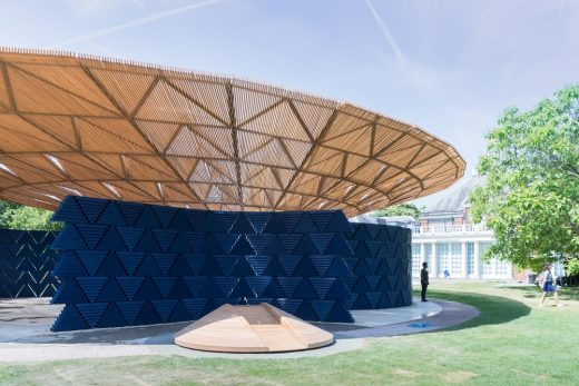 Francis Kéré, Serpentine Pavilion, 2017, London