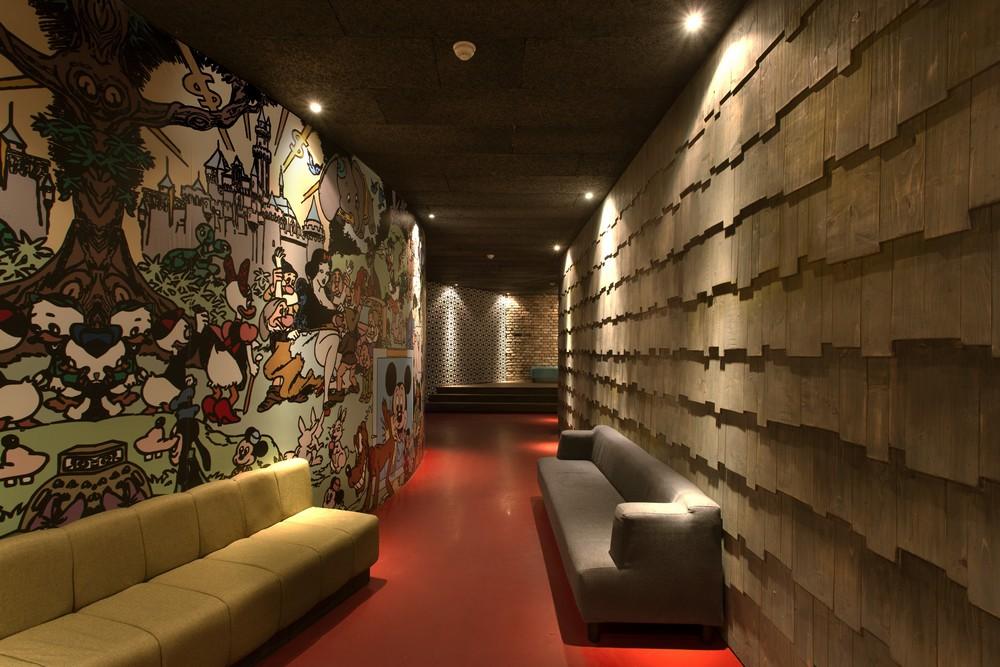 T Shirt Club Interior Constanta E Architect