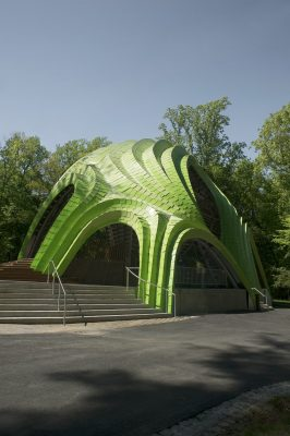 Stage in Symphony Woods, Maryland