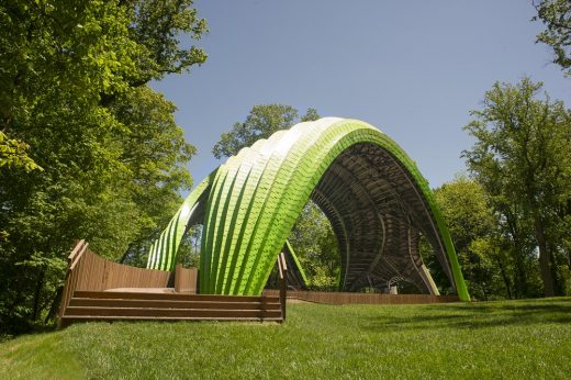 The Chrysalis stage building in Maryland USA