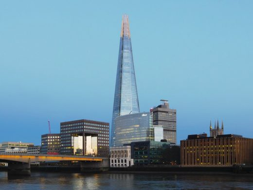 The Shard London building