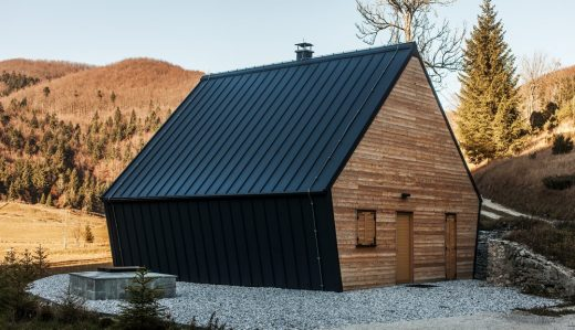 The Wooden House in Slovenia