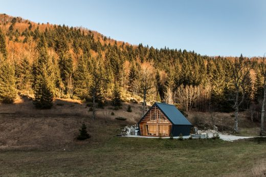 The Wooden House Slovenia Architecture News