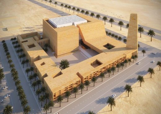 AlJabri Mosque in Ha'il, Saudi Arabia | www.e-architect.co.uk
