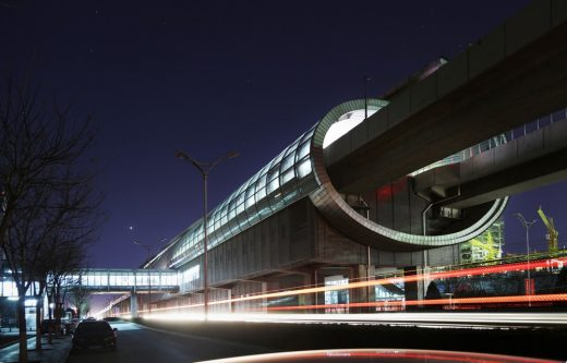 Beijing Fangshan Elevated Subway Stations