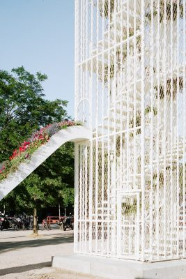 Biennale d'Architecture of Lyon: Flower Pavilion | www.e-architect.co.uk