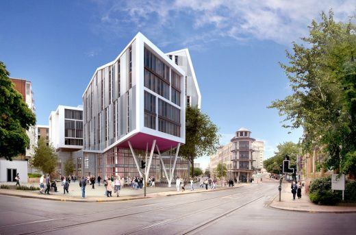 Byron House Nottingham Trent University building design