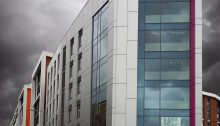 Byron House Nottingham Trent University Reyonobond ACM cladding panels