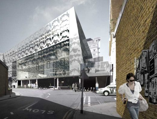 Design Centre Chelsea Harbour building by Duggan Morris Architects
