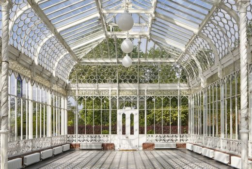 Coombe Cliff Conservatory Building