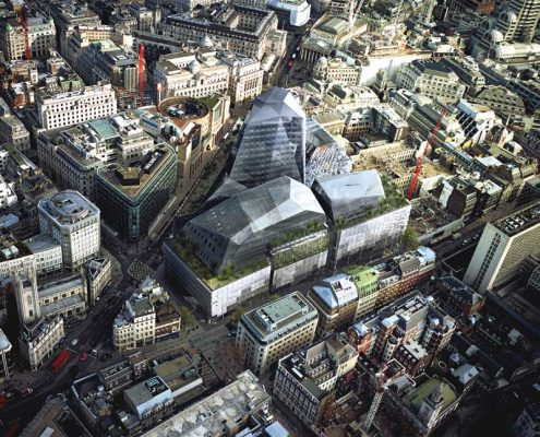 Walbrook Square Foster + Partners buildings