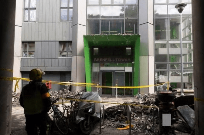 Grenfell Tower Fire West London - e-architect