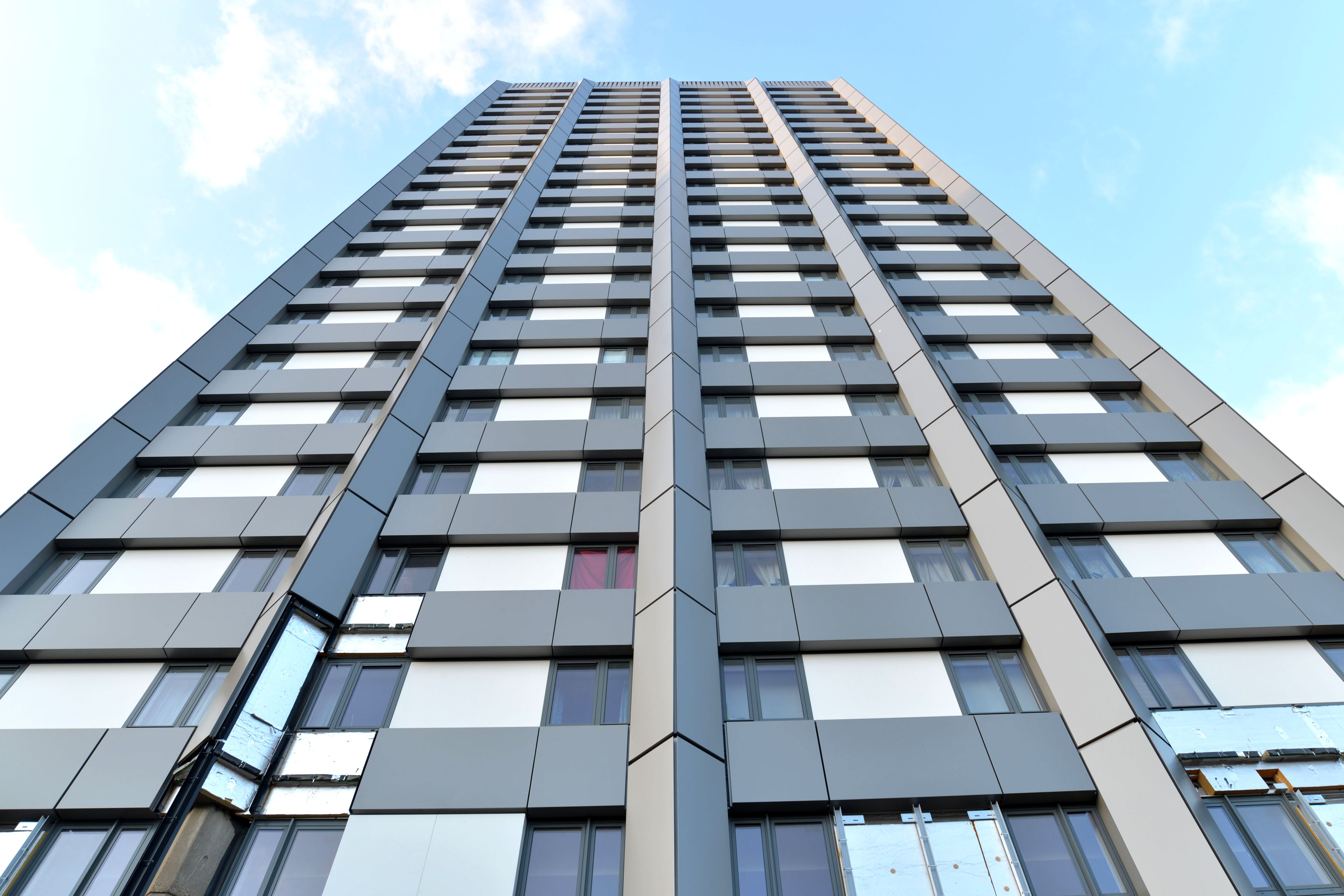 Building Cladding Panels : Grenfell tower cladding e architect