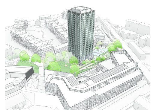 Grenfell Tower West London building design