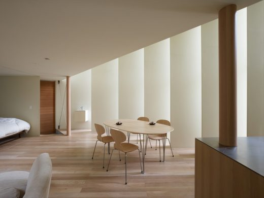 Home in Kyoto, Japan, design by Fujiwara Architects