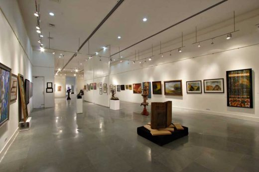 Jamia art gallery Delhi architecture | www.e-architect.co.uk