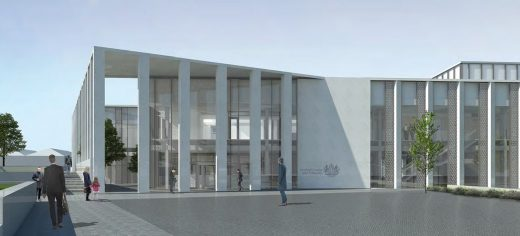 Inverness Justice Centre Building design