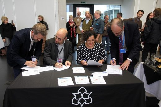 Landscape Institute & Institute of Place Management Signing MOU