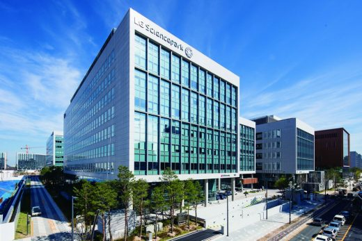 LG Science Park in Seoul - South Korean Architecture News