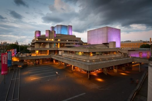 National Theatre London building photo