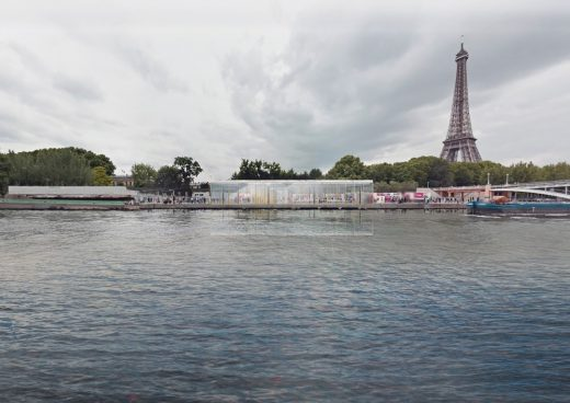 Paris Riverside Restaurant Architecture Competition Winner