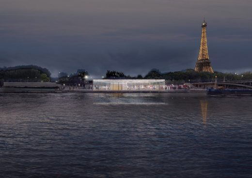 Paris Riverside Restaurant Architecture Competition Winning design