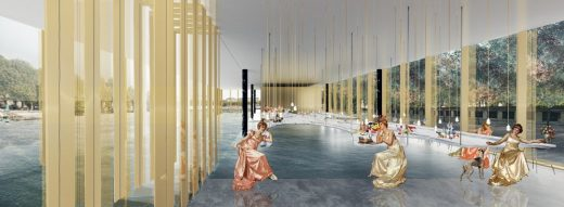 Paris Riverside Restaurant Design Competition Winner