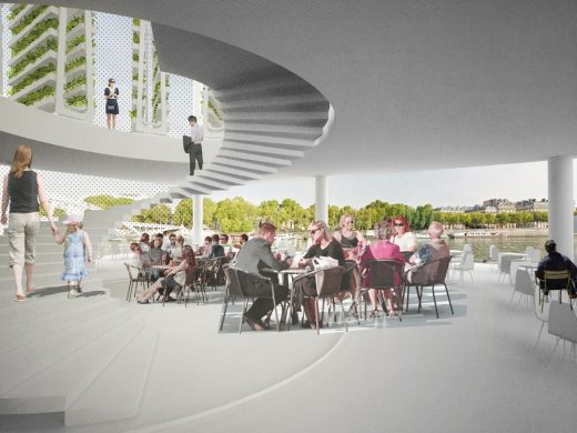 Paris Riverside Restaurant Competition 2nd Prize