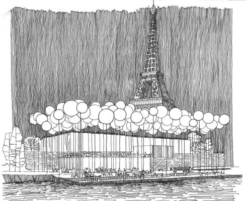 Paris Riverside Restaurant Contest 3rd Prize
