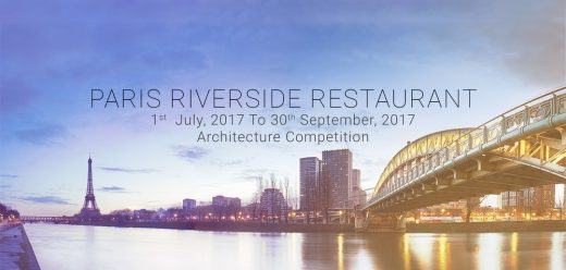 Paris Riverside Restaurant Architecture Competition