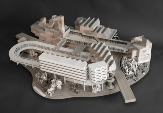 RA Summer Exhibition 2018 model by Matthew Bloomfield