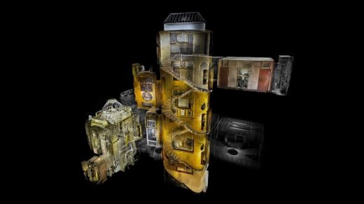 Scanning the Soane Museum building in London | www.e-architect.com