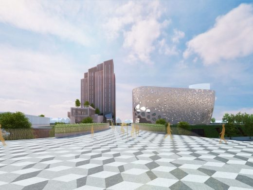 Swansea City Centre Regeneration design