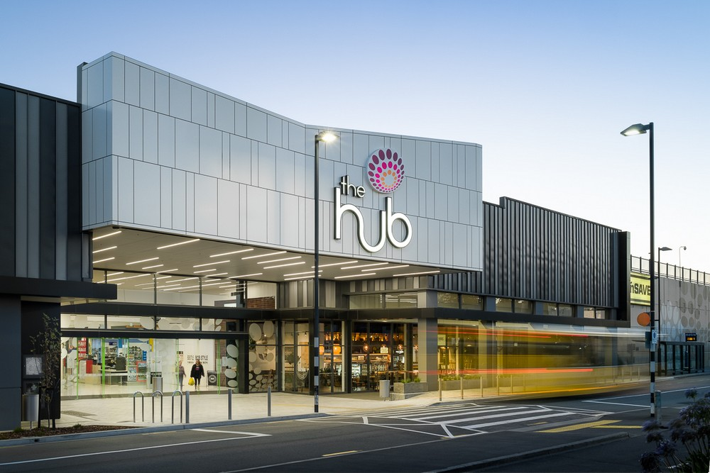 The hub in christchurch e architect for Architects creative christchurch