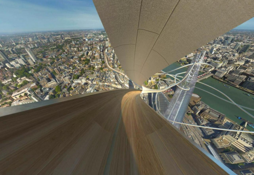 The Shard VR Slide Experience in London